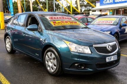 2012 Holden Cruze JH Series II MY12 CD Blue 6 Speed Manual Hatchback Ringwood East Maroondah Area Preview