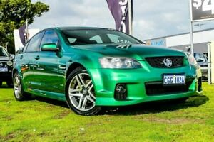 2010 Holden Commodore VE II SV6 Green 6 Speed Sports Automatic Sedan Wangara Wanneroo Area Preview