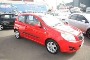 2008 Holden Barina TK MY08 Red 5 Speed Manual Hatchback Kingsville Maribyrnong Area Preview