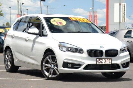 2015 BMW 225I F45 Luxury Line Active Tourer White 8 Speed Sports Automatic Hatchback