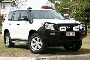 2010 Toyota Landcruiser Prado KDJ150R GX White 6 Speed Manual Wagon Yeerongpilly Brisbane South West Preview