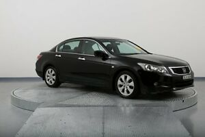 2008 Honda Accord 8th Gen VTi-L Black 5 Speed Sports Automatic Sedan Old Guildford Fairfield Area Preview