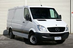2012 Mercedes-Benz Sprinter NCV3 MY12 313CDI Low Roof MWB 7G-Tronic White 7 Speed Sports Automatic Seaford Frankston Area Preview