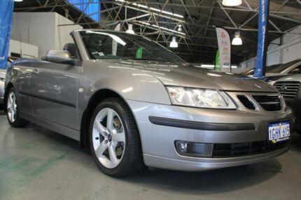 2007 Saab 9-3 MY07 Vector Grey 5 Speed Auto Sensonic Convertible Victoria Park Victoria Park Area Preview