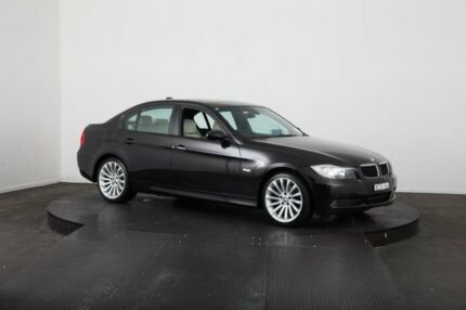 2007 BMW 320i E90 Black 6 Speed Steptronic Sedan McGraths Hill Hawkesbury Area Preview