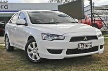 2011 Mitsubishi Lancer  White Automatic Hatchback Capalaba West Brisbane South East Preview