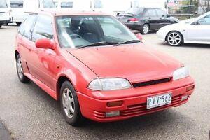 1998 Suzuki Swift Cino Red 5 Speed Manual Hatchback Heatherton Kingston Area Preview