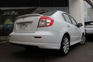2012 Suzuki SX4 GYC MY10 S White 6 Speed Constant Variable Sedan