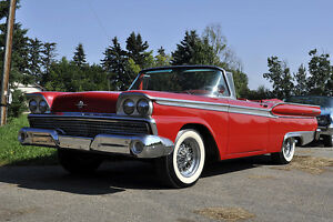 1959 Meteor Montcalm Rideau 500 Convertible - trying to locate.