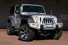 2007 Jeep Wrangler JK Unlimited Sport Silver 6 Speed Manual Softtop Northbridge Perth City Preview