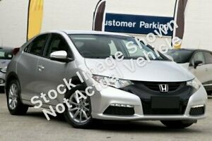 2014 Honda Civic 9th Gen MY14 VTi-S Silver 5 Speed Sports Automatic Hatchback