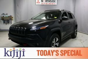 2014 Jeep Cherokee 4WD TRAILHAWK Navigation (GPS),  Leather,  He