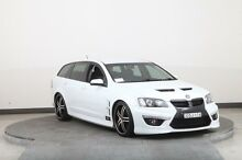 2009 Holden Special Vehicles Clubsport E2 Series R8 Tourer White 6 Speed Auto Active Sequential Wago Smithfield Parramatta Area Preview