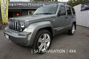 2012 Jeep Cherokee KK MY12 JET Grey 4 Speed Automatic Wagon Dandenong Greater Dandenong Preview