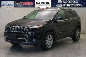 2017 Jeep Cherokee Limited 4WD*Leather*Sunroof*V6*
