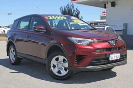 2016 Toyota RAV4 ZSA42R GX 2WD Deep Red 7 Speed Constant Variable Wagon Hillman Rockingham Area Preview