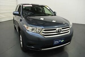 2013 Toyota Kluger GSU40R MY13 Upgrade KX-R (FWD) 7 Seat Blue 5 Speed Automatic Wagon Moorabbin Kingston Area Preview