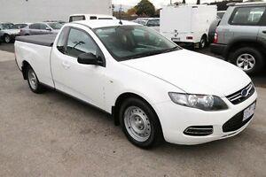 2012 Ford Falcon FG MkII EcoLPi Ute Super Cab White 6 Speed Sports Automatic Utility Heatherton Kingston Area Preview