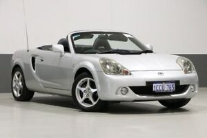 2004 Toyota MR2 ZZW30R Spyder Silver 6 Speed Sequential Manual Convertible