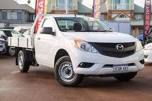 2015 Mazda BT-50 UR0YD1 XT 4x2 White 6 Speed Manual Cab Chassis Mindarie Wanneroo Area Preview