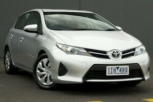 2013 Toyota Corolla Silver Constant Variable Hatchback Cranbourne Casey Area Preview