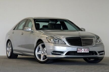 2010 Mercedes-Benz S350 221 09 Upgrade Silver 7 Speed Automatic G-Tronic Sedan Salisbury Brisbane South West Preview