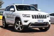 2015 Jeep Grand Cherokee WK MY15 Limited White 8 Speed Sports Automatic Wagon East Rockingham Rockingham Area Preview
