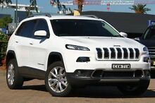 2014 Jeep Cherokee KL MY15 Limited (4x4) White 9 Speed Automatic Wagon Rosebery Inner Sydney Preview