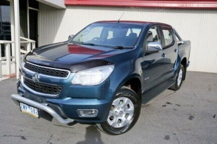 2013 Holden Colorado Blue Sports Automatic Utility