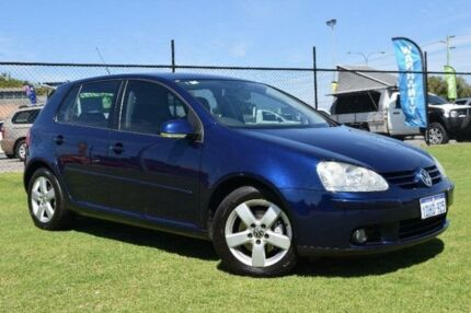 2008 Volkswagen Golf V Pacific Blue Sports Automatic Dual Clutch Hatchback