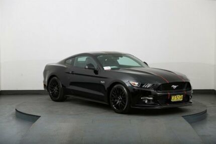 2015 Ford Mustang FM Fastback GT 5.0 V8 Black 6 Speed Automatic Coupe
