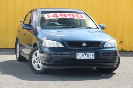 2002 Holden Astra TS CD Blue 5 Speed Manual Hatchback Heatherton Kingston Area Preview