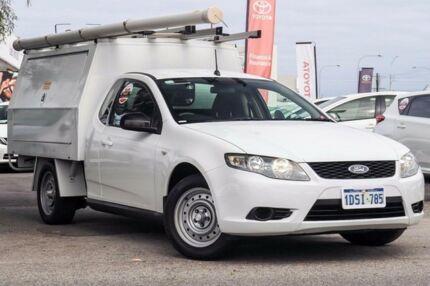 2011 Ford Falcon FG MK2 White 6 Speed Auto Seq Sportshift Cab Chassis