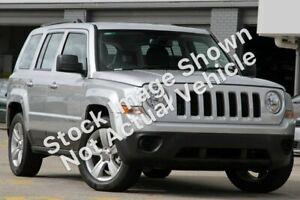 2013 Jeep Patriot MK MY2013 Sport CVT Auto Stick 4x2 Silver 6 Speed Constant Variable Wagon Slacks Creek Logan Area Preview