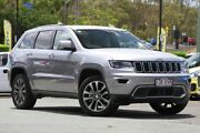 2017 Jeep Grand Cherokee WK MY18 Limited Silver 8 Speed Sports Automatic Wagon Indooroopilly Brisbane South West Preview