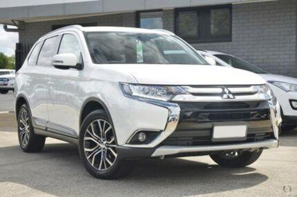 2015 Mitsubishi Outlander ZK MY16 LS 4WD White 6 Speed Constant Variable Wagon Hillcrest Port Adelaide Area Preview