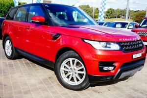 2013 Land Rover Range Rover Sport L494 MY14 TdV6 CommandShift SE Red 8 Speed Sports Automatic Wagon Pearce Woden Valley Preview