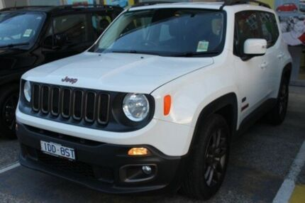 2016 Jeep Renegade BU MY16 75th Anniversary DDCT White 6 Speed Sports Automatic Dual Clutch