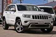 2014 Jeep Grand Cherokee WK MY15 Limited White 8 Speed Sports Automatic Wagon Hillcrest Logan Area Preview