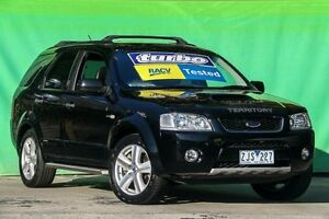 2006 Ford Territory SY Turbo AWD Ghia Black 6 Speed Sports Automatic Wagon Ringwood East Maroondah Area Preview