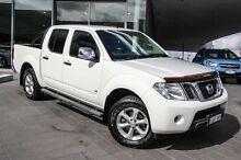 2012 Nissan Navara D40 S5 MY12 ST-X 550 White 7 Speed Sports Automatic Utility Wangara Wanneroo Area Preview
