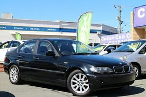 2003 BMW 318I E46 MY2003 Steptronic Black 5 Speed Sports Automatic Sedan Greenslopes Brisbane South West Preview