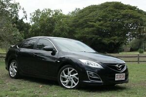 2011 Mazda 6 GH MY11 Luxury Sports Black 5 Speed Automatic Hatchback The Gardens Darwin City Preview