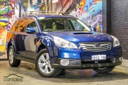 2010 Subaru Outback B5A MY10 2.0D AWD Premium Blue 6 Speed Manual Wagon