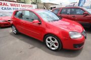 2007 Volkswagen Golf V MY07 GTI DSG Red 6 Speed Sports Automatic Dual Clutch Hatchback Kingsville Maribyrnong Area Preview