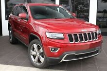 2015 Jeep Grand Cherokee WK MY15 Limited Deep Cherry Red 8 Speed Auto Seq Sportshift Wagon Buderim Maroochydore Area Preview