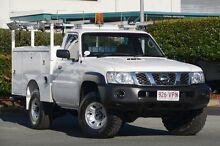 2010 Nissan Patrol GU 6 MY10 DX Polar White 5 Speed Manual Cab Chassis Acacia Ridge Brisbane South West Preview