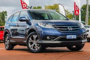 2014 Honda CR-V RM MY15 VTi-L 4WD Blue 5 Speed Sports Automatic Wagon Myaree Melville Area Preview