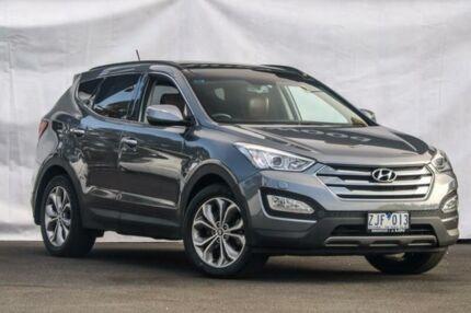 2012 Hyundai Santa Fe DM Highlander Silver Sports Automatic Wagon