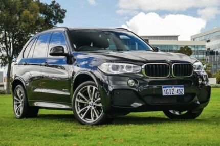 2015 BMW X5 F15 xDrive30d Black 8 Speed Sports Automatic Wagon